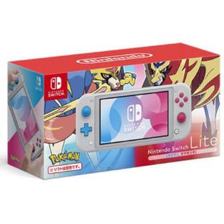 Nintendo Switch - 任天堂 Switch lite 新品 ザシアンザマゼンタ  ポケモン 限定
