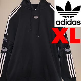 adidas - 【新品未使用】【アディダス】正規店購入 トレフォイルロゴ パーカー XL