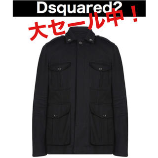 ディースクエアード(DSQUARED2)の【新品】Dsquared2 - アウター サファリジャケット(テーラードジャケット)