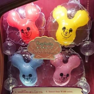 Disney - カプセルトイ  バルーン コンプ 全色 中身のみ 4種