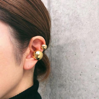 TODAYFUL - Ball earcuff gold M No.195