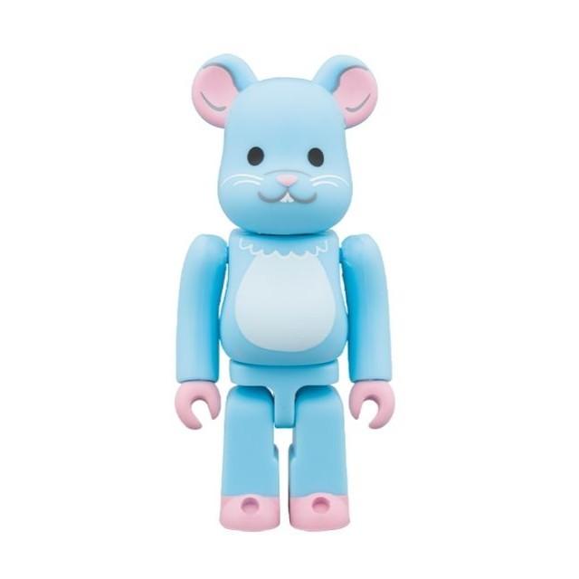 MEDICOM TOY(メディコムトイ)のベアブリック BE@RBRICK 干支 ネズミ ねずみ 子 エンタメ/ホビーのおもちゃ/ぬいぐるみ(キャラクターグッズ)の商品写真