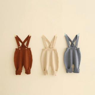petit main - 韓国子供服  ニットサロペット