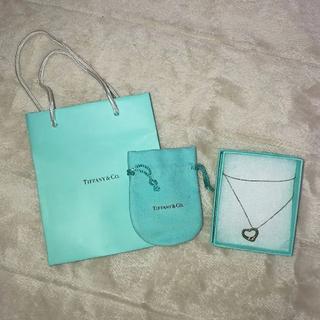 Tiffany & Co. - Tiffany ティファニーオープンハート ネックレス