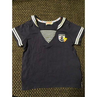 mikihouse - ミキハウス セーラーTシャツ 80