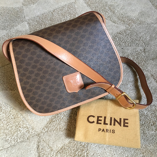 celine - 美品 ヴィンテージ オールド セリーヌ マカダム  ブラゾン ショルダー