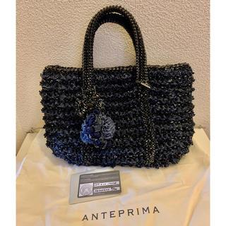 ANTEPRIMA - 美品 超レア アンテプリマ ワイヤーバッグ  ジーンズ デニム  チャーム付き