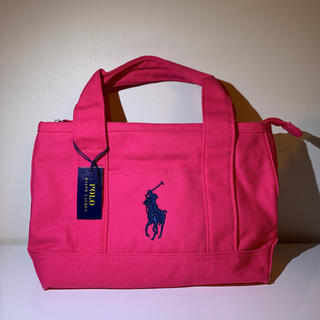 POLO RALPH LAUREN - ☆最後の1点です☆ラルフローレン スモール トート バッグ 新品正規品
