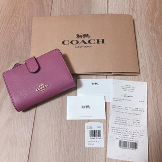 COACH - coach コーチ 財布 二つ折 プリムローズ