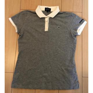 パーリーゲイツ(PEARLY GATES)のリーゲイツ Pearly Gates ポロシャツ グレー サイズ1(ポロシャツ)