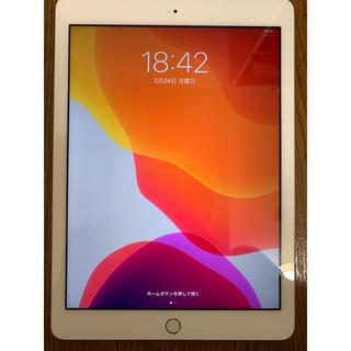 Apple - iPad 6世代 32GB シルバー 美品 Wi-Fiモデル クリアケース付き