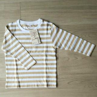 MUJI (無印良品) - 【新品】長袖 Tシャツ 無印良品 90