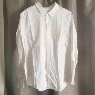 フェリシモ(FELISSIMO)のフェリシモ 胸ビーズ刺繍シャツ(シャツ/ブラウス(長袖/七分))