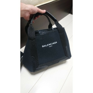 Balenciaga - BALENCIAGA キャンバス バッグ ブラック 黒