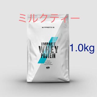 MYPROTEIN - Impact ホエイプロテイン ミルクティー 1.0kg
