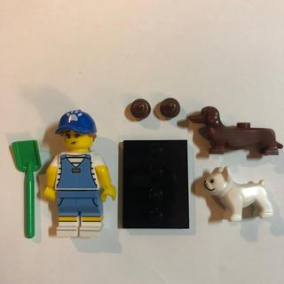 Lego - レゴ ミニフィグ シリーズ19 飼育員 動物フィギュア