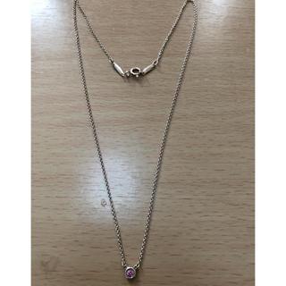 Tiffany & Co. - ティファニー  バイザヤード  ネックレス  サファイヤ
