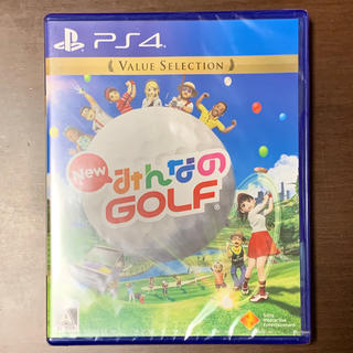 PlayStation4 - 【新品未開封】New みんなのGOLF(Value Selection) PS4