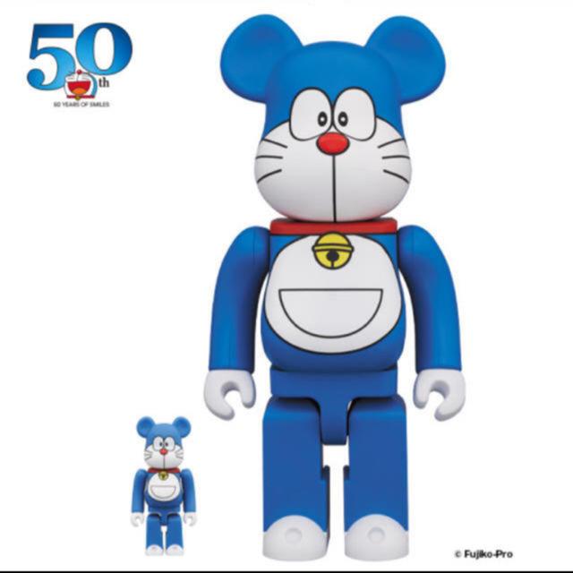 MEDICOM TOY(メディコムトイ)のBE@RBRICK ドラえもん  エンタメ/ホビーのおもちゃ/ぬいぐるみ(キャラクターグッズ)の商品写真