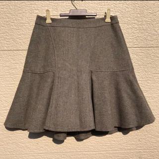 ニジュウサンク(23区)の23区 スカート グレー 38(ひざ丈スカート)