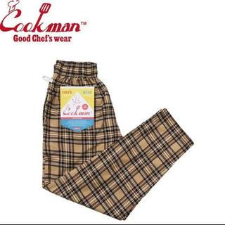 COOKMAN  Chef Pants Corduroy Tartan