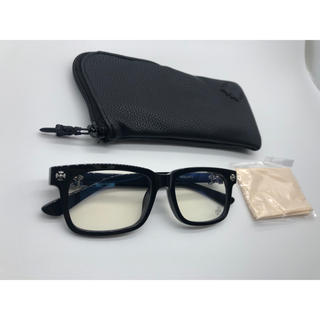 Chrome Hearts - クロムハーツ メガネ 眼鏡 サングラス VAGILANTE クロス 黒 新品