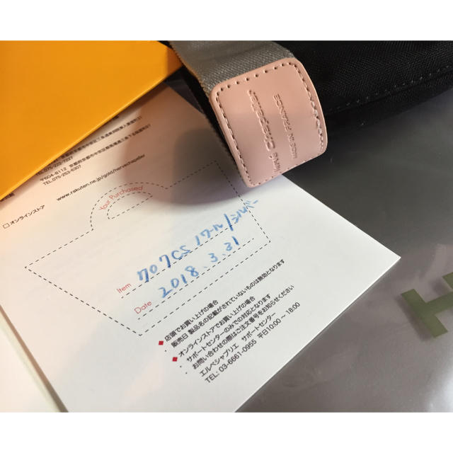 Herve Chapelier(エルベシャプリエ)の専用出品 エルベシャプリエ 707c 限定 ブラック×シルバー  レディースのバッグ(トートバッグ)の商品写真