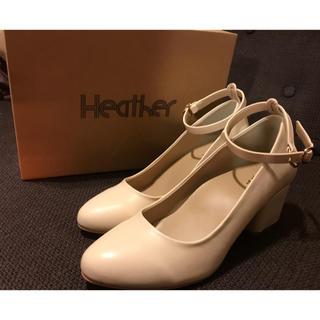 heather - Heather パンプス(新品未使用)