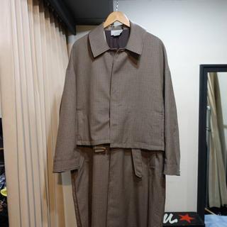 SUNSEA - YOKE TOKYO 19AW 3way バルカラーシェアコート
