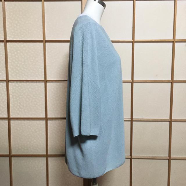 ketty(ケティ)の[Pao.de.lo] パオデロ カーディガンニット ミントグリーン 7分袖 レディースのトップス(カーディガン)の商品写真