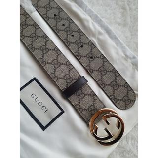 Gucci - 新作 GUCCI グッチ GG Supreme ロゴ ベルト