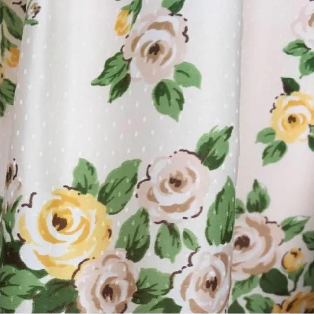 IMAGE(イマージュ)のイマージュ 花柄スカート レディースのスカート(ひざ丈スカート)の商品写真