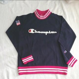 Champion - チャンピオン モックネック 長袖シャツレディース  M  新品 タグ付き