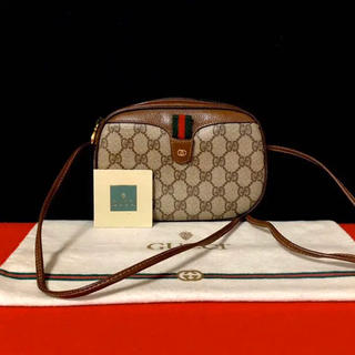 Gucci - 未使用 保管品 極上品 オールドグッチ シェリーライン ミニ ショルダーバッグ
