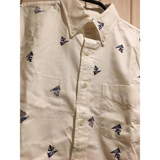 ブルーブルー(BLUE BLUE)のハリウッドランチマーケット ブルーブルー 長袖シャツ 試着のみ 聖林公司(シャツ)