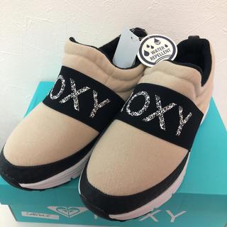 Roxy - ROXY スニーカー ベージュ 新品未使用タグ付き