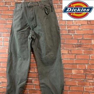 Dickies - 《色落ち抜群》ディッキーズ 1939 ダック地 ペインターパンツ オリーブ