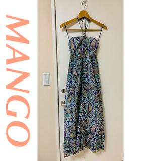 マンゴ(MANGO)の《美品》mango マキシワンピース (ロングワンピース/マキシワンピース)