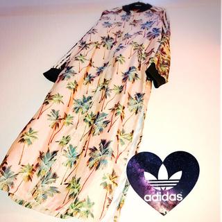 adidas - アディダス ファーム コラボ オリジナルス 花柄  ロング ジャージ ワンピース
