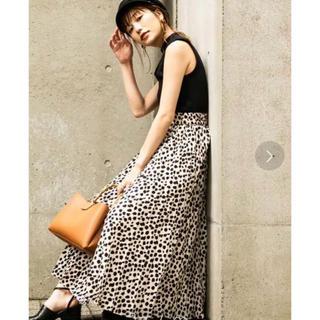 FREE'S MART - フリーズマート レオパード柄 ロングスカート