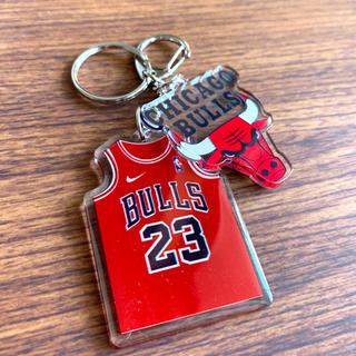 NBA シカゴブルズ ユニフォーム型 キーホルダー 23 ジョーダン
