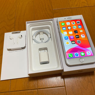 Apple - iPhone 8 Plus 256GB シルバー ドコモ版 SIMロック解除済み