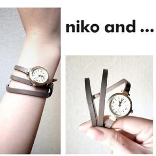niko and... - niko and. . ./巻きベルト腕時計