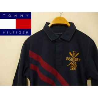 トミーヒルフィガー(TOMMY HILFIGER)の美品 トミーヒルフィガー メンズ ポロシャツ(ポロシャツ)