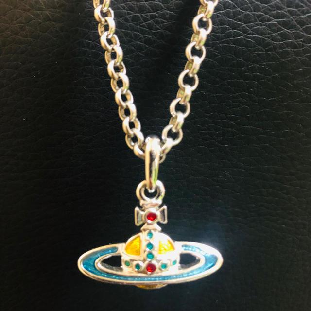 Vivienne Westwood(ヴィヴィアンウエストウッド)のヴィヴィアンウエストウッド ネックレス マルチカラー レディースのアクセサリー(ネックレス)の商品写真