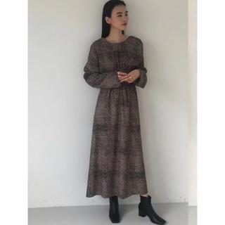 TODAYFUL - 新品 TODAYFUL Print Shirring Dress