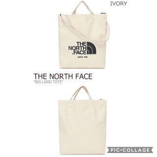 THE NORTH FACE - THE  NORTH  FACE☆トートバッグ アイボリー
