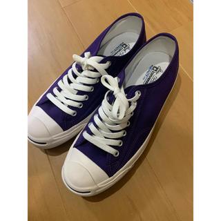 コンバース(CONVERSE)のコンバース  紫(スニーカー)