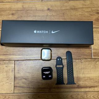 Apple Watch - アップルウォッチ5 NIKE 44インチ GPS スペースグレイ
