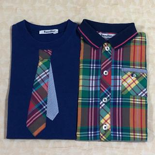 familiar - familiar       Tシャツ& 半袖シャツ  size 100cm